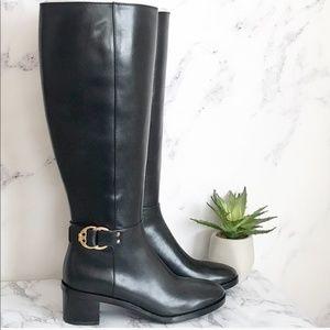 Tory Burch | 7.5 Marsden Boot Black Wide Calf